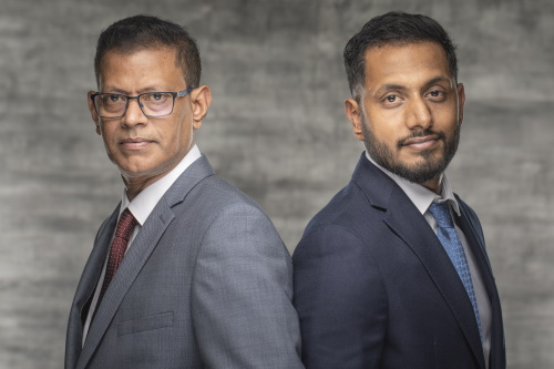Arulnathan Kanagaratnam und Sathuyan Kanagaratnam